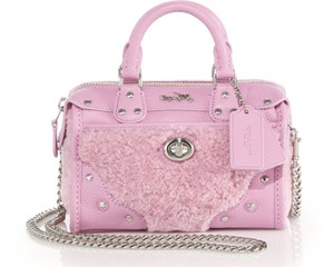 Coach 36478 Marshmallow Satchel in Pink