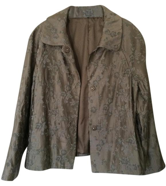 Preload https://item1.tradesy.com/images/theory-taupe-gray-blazer-13525-0-2.jpg?width=400&height=650