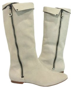 Belle by Sigerson Morrison Suede Light Gray Boots