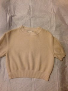 St. John Size P Knit Wide Ribbed Sweater
