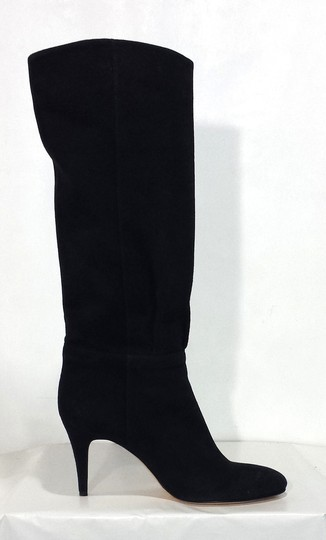 Gigi Favela Suede Leather Black Boots