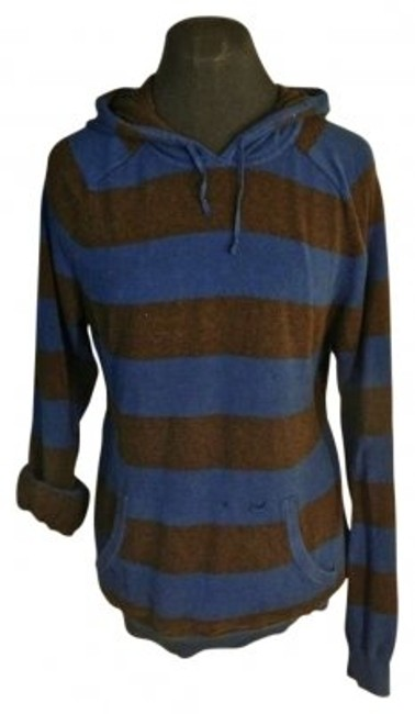 Preload https://item4.tradesy.com/images/gap-blue-brown-striped-sweaterpullover-size-4-s-135268-0-0.jpg?width=400&height=650