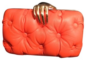 Bendetta Bruzziches Orange Clutch