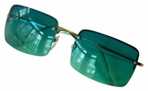Unknown Teal Sunglasses