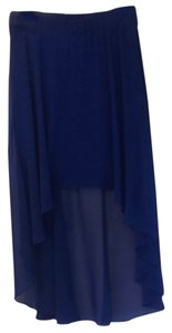 bebe Skirt Royal Blue
