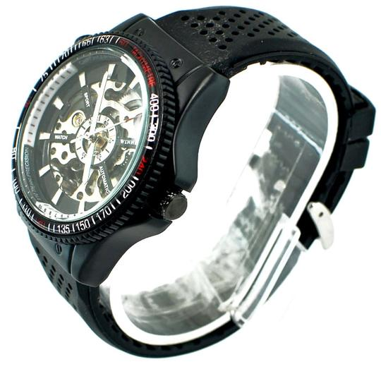 Winner Elite Sport Automatic Men's Sport Watch Jelly Silicone Band Great Gift Watch Box Included-Free Shipping