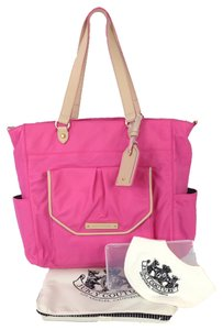 Juicy Couture Highlighter Pink Diaper Bag