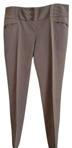 The Limited Straight Pants Light Brown