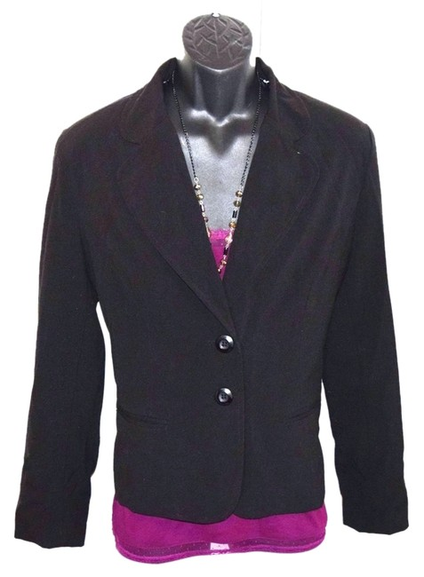 Preload https://item1.tradesy.com/images/agb-black-sports-coat-blazer-with-silver-leopard-skin-design-full-lining-long-sleeve-2-buttons-in-th-1353025-0-0.jpg?width=400&height=650