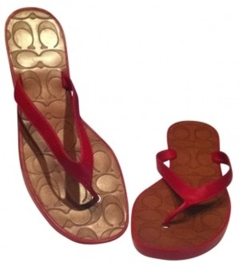Preload https://item2.tradesy.com/images/coach-red-cherry-sandals-size-us-10-135306-0-0.jpg?width=440&height=440