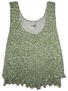 Vivienne Tam Top Green, White & Black