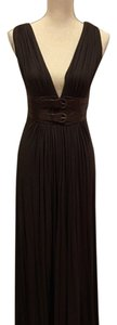 Brown Maxi Dress by Sky