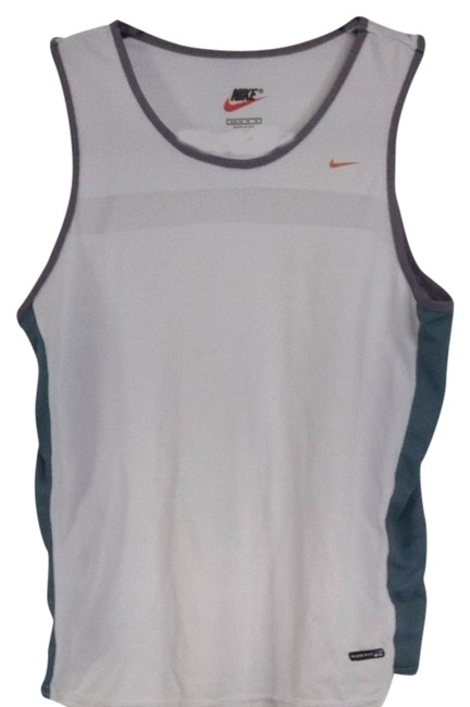 Preload https://item4.tradesy.com/images/nike-white-gray-and-green-fit-activewear-top-size-8-m-29-30-1353158-0-0.jpg?width=400&height=650