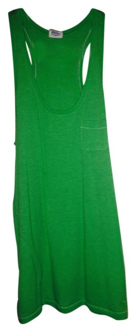 Victoria's Secret Spring Break Summer Beach Cover Up Casual Top Lime Green