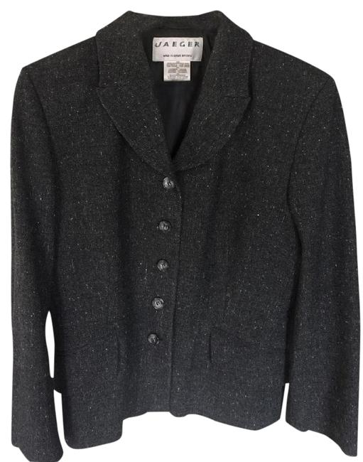 Jaeger Grey Tweed Blazer Image 0