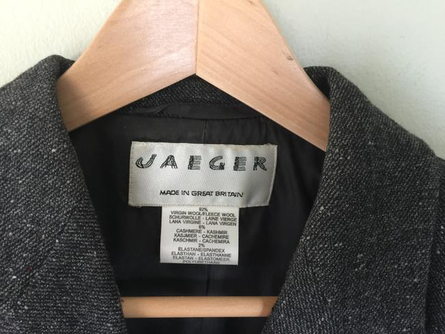 Jaeger Grey Tweed Blazer Image 1