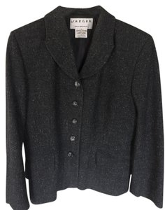 Jaeger Grey Tweed Blazer