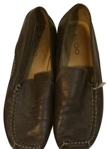 Aldo Shoes Brown Leather Flats