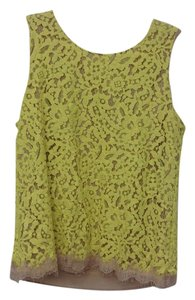 Ann Taylor Lace Top yellow