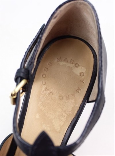 Marc by Marc Jacobs Black Wedges