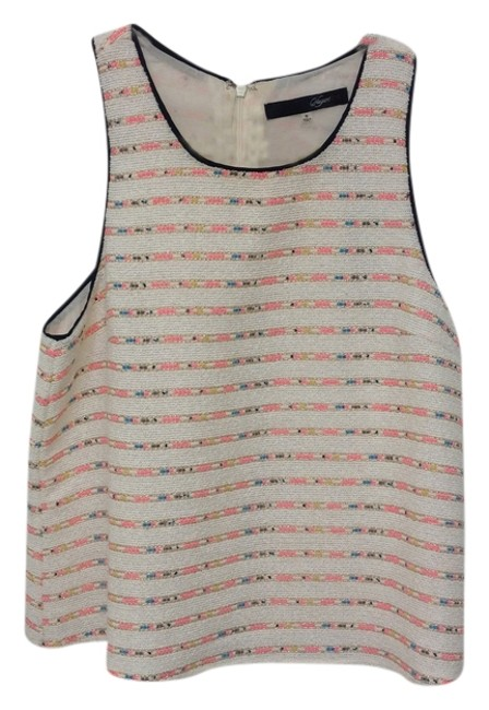 Preload https://item2.tradesy.com/images/sugarlips-white-black-pink-neon-gold-blue-texture-pattern-multi-color-classic-tank-topcami-size-4-s-1353341-0-0.jpg?width=400&height=650