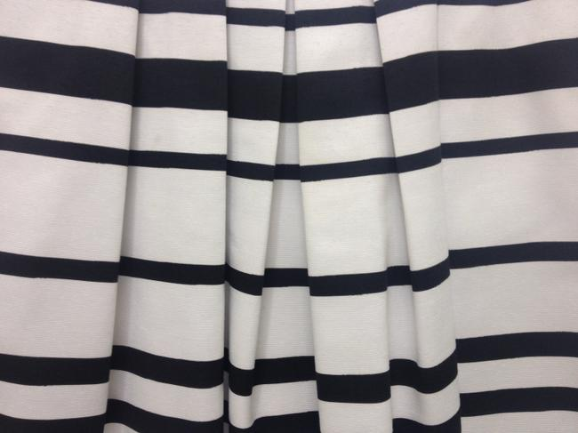 White House | Black Market short dress black and white Stripes on Tradesy