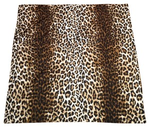 Other Leopard Animal Print Square Silky Scarf