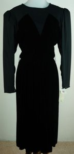 Donna Morgan Vintage For Non Stop 1112 Illusion Party W Dress