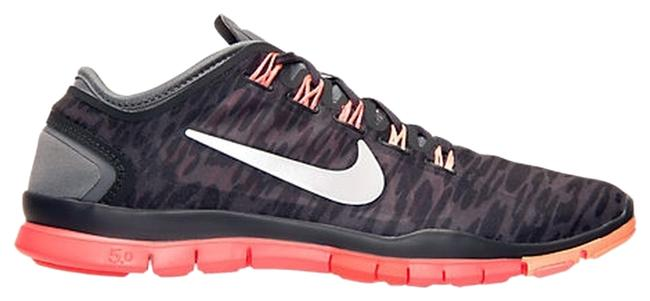 Item - Pink Coral Gray Black Free Tr Connect 2 Sneakers Size US 8.5 Regular (M, B)