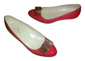 Kate Spade Bow Shoe Red Wedges