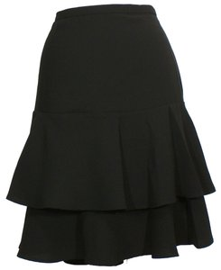 Lauren Ralph Lauren Tiered Skirt Black