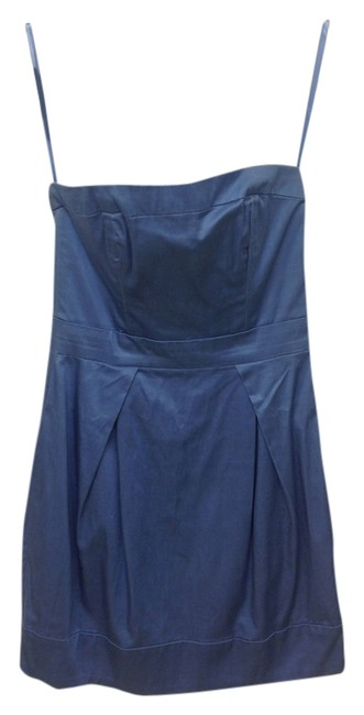Preload https://img-static.tradesy.com/item/1353447/french-connection-blue-strapless-casual-mini-night-out-dress-size-0-xs-0-0-650-650.jpg