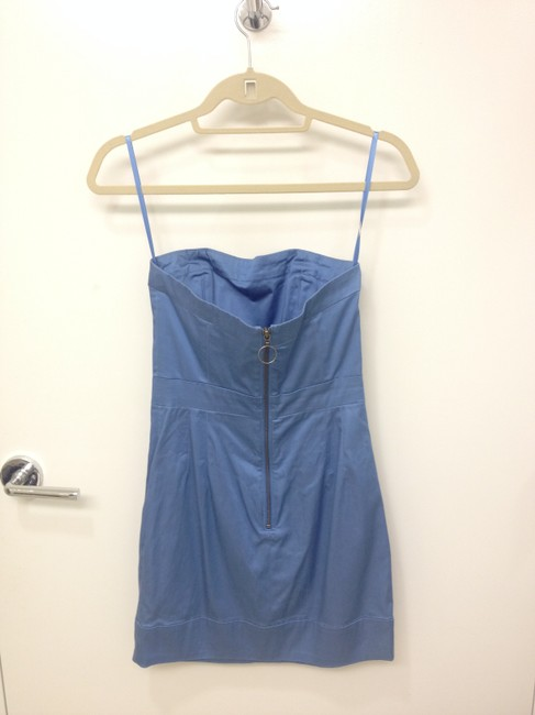 French Connection Strapless Mini Casual Dress