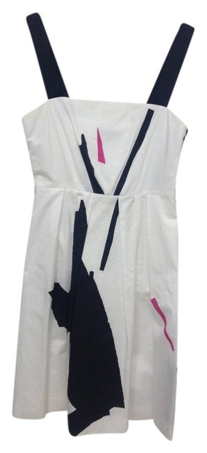 Preload https://img-static.tradesy.com/item/1353468/theory-black-white-pink-a-line-above-knee-short-casual-dress-size-0-xs-0-0-650-650.jpg