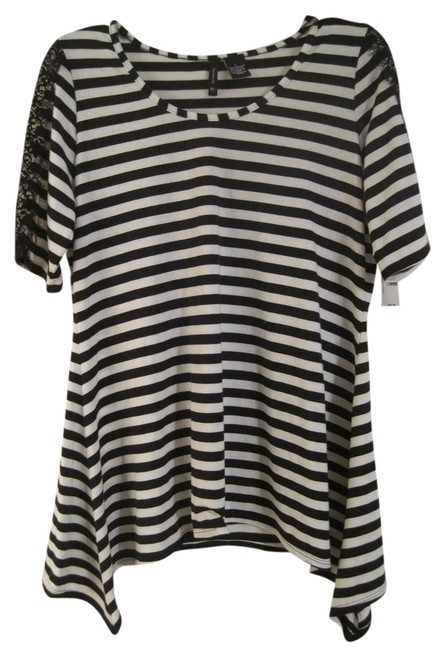 New Directions Striped Tunic