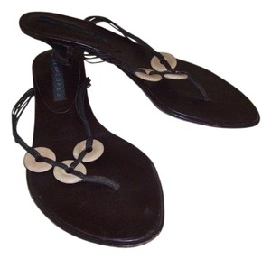 Pura Lopez Brown Sandals