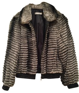Yves Salomon Rex Rabbit Fur Fur Coat
