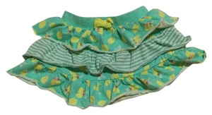 Cherokee Mini Skirt Teal and yellow