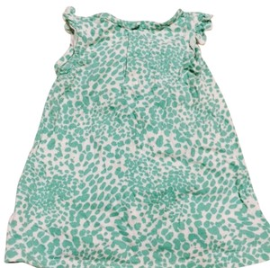 Carter's T Shirt Animal print / green and white