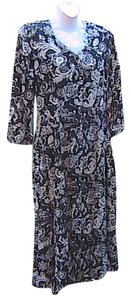 Black Floral Maxi Dress by Other
