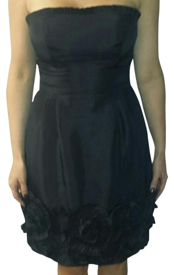 7630297949a7b Max and Cleo Black Above Knee Cocktail Dress Size 6 (S) - Tradesy