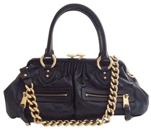 Marc Jacobs Stam Stam Satchel in Black