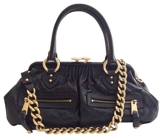 Preload https://img-static.tradesy.com/item/1353698/marc-jacobs-eastwest-quilted-stam-black-leather-satchel-0-0-540-540.jpg