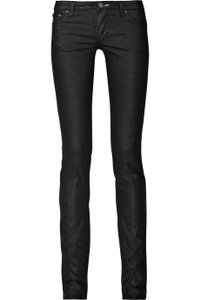 Acne Skinny Jeans-Coated