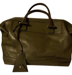 Diane von Furstenberg Satchel in army green
