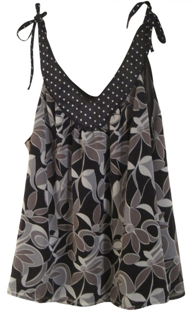Item - Floral Polka Dot Tank Top/Cami Size 16 (XL, Plus 0x)