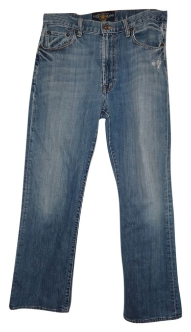 Lucky Brand Relaxed Fit Jeans-Distressed