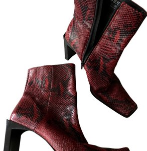 Nine West Red Boots