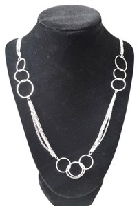 Silver Chain w/Rings - 60% off