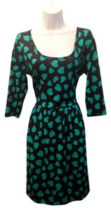 BeBop short dress Black Retro Mini Hearts on Tradesy